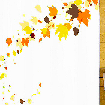 Styles 2014 Fall Shower Curtain