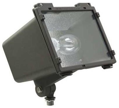 Http Www Houzz Com Photos 15132795 Hubbell F 100w Pulse Start Metal Halide Outdoor Facade Flood Light Modern Outdoor Lighting