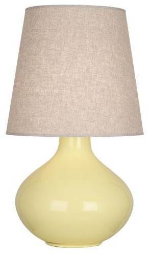 robert abbey june table lamp in butter traditional table lamps