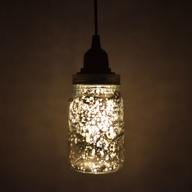 Mason Jar Pendant Light Kit