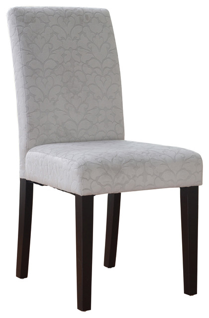 linon charcoal gray upton parsons chair contemporary dining chairs