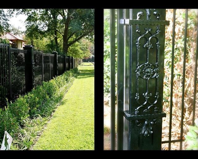 Dallas Texas Private Estate Garden Design dallas by