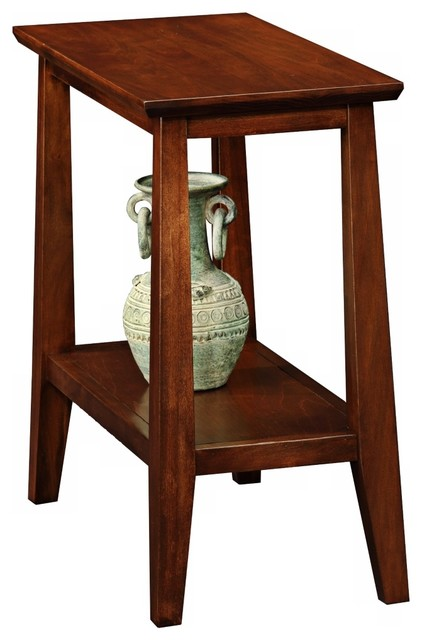 Delton Chairside Solid Wood Narrow End Table Craftsman