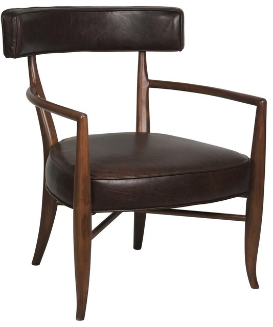 Noir Furniture Morris Armchair Midcentury Armchairs And Accent Chairs By Greatfurnituredeal