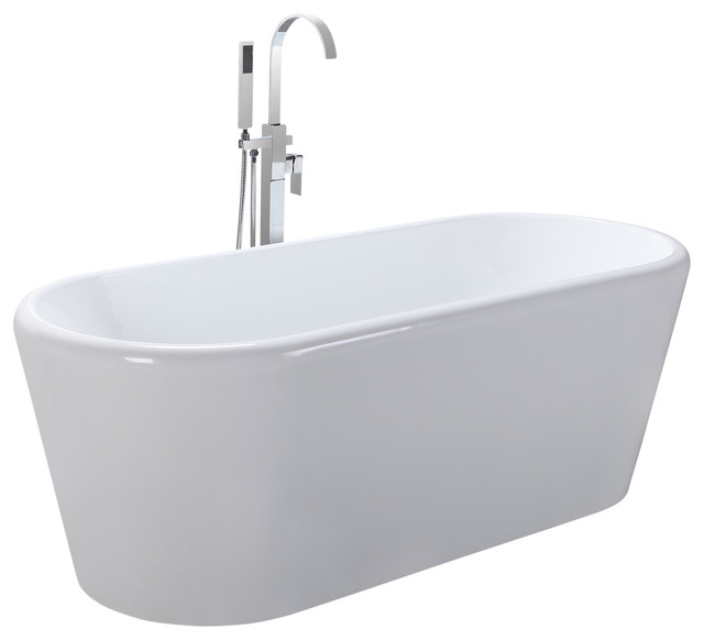 Helixbath Dionysias Freestanding Acrylic Bath Tub 67