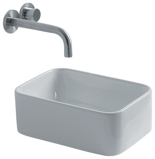 Vessel Bathroom Sink, 9.4
