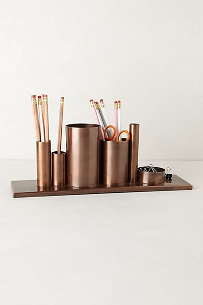 Codify pencil holder contemporary desk accessories Diy pencil holder for desk