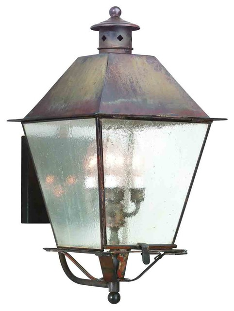 Troy Lighting BCD9137CI Montgomery Charred Iron Outdoor Wall Sconce - Traditional - Outdoor Wall ...