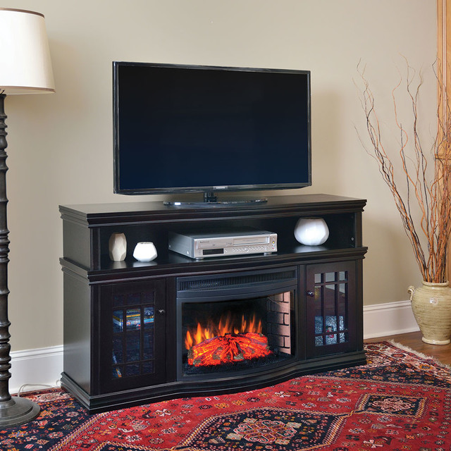 Electric Fireplace TV Media Consoles Other Metro By Electric