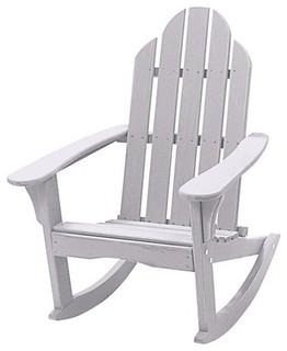 Cottage Classics Rocking Adirondack Chair Modern Outdoor Rocking Chairs