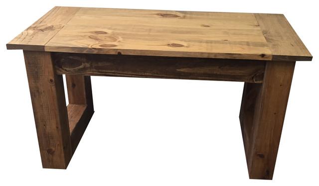 Light Walnut Coffee Table Rustic Coffee Tables By Ezekiel Stearns