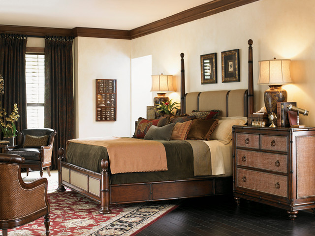 tommy bahama home landara bedroom collection transitional bedroom
