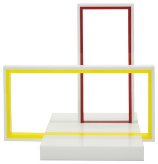 ACRYLIC RECTANGLE SET Modern Home Accessories Decor New York By