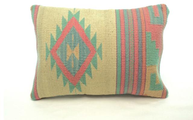 Zapotec Throw Pillows : Authentic Zapotec Textile Pillow - Decorative Pillows - denver - by Tribal Pillows and Textiles