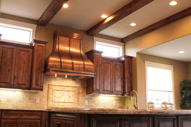 Camillia Copper Range Hood Traditional Range Hoods And Vents Portland By Art Of Rain