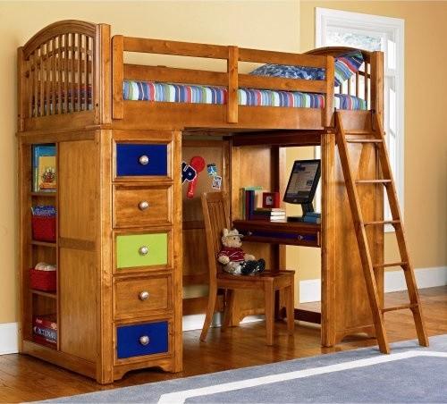 Build A Loft Bedroom: Build-A-Bear Bearrific Loft Bed