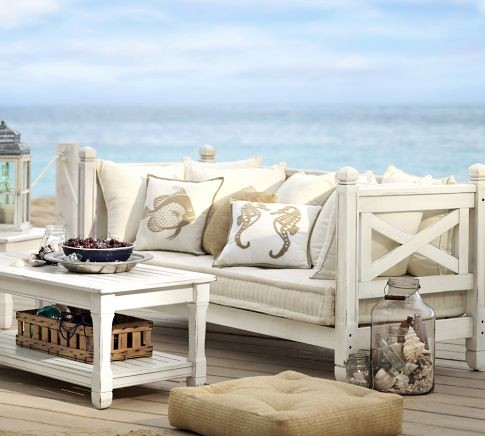 Weatherby Sofa Contemporary Outdoor Sofas By Pottery Barn