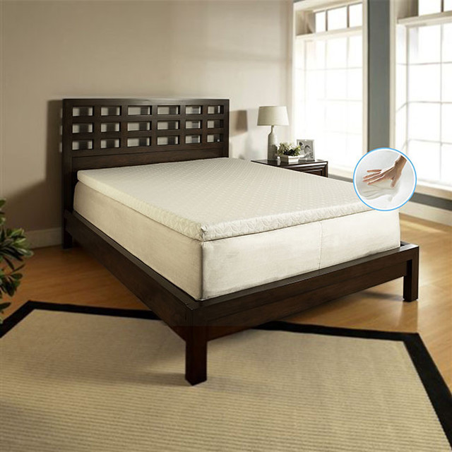 Medallion Marshmallow White Twin Daybed And Memory Foam Mattress (White) For Sale Online