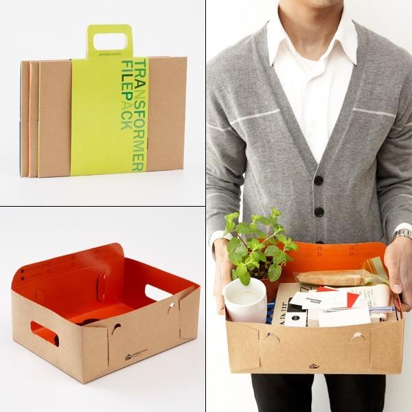 Transformer Filepack - Contemporary - Desk Accessories - by Yanko Design