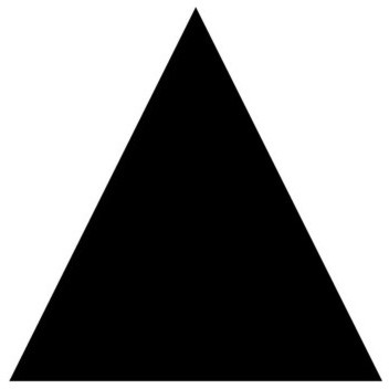 Triangle Shape Template Stencil - Traditional - Wall ...