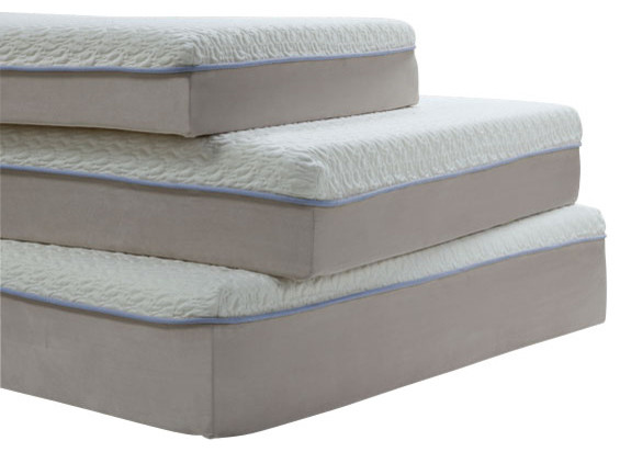 Acme Lavell 10 Queen Memory Foam Mattress and Foundation