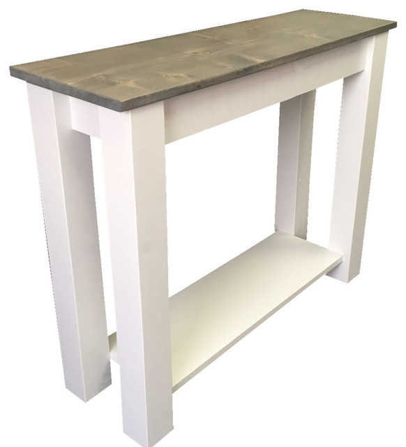Cottage Sofa Table  Farmhouse  Console Tables  By. Asian Desk. How To Organize A Desk Drawer. Kitchen Table Drawers. White Kids Desk With Hutch. Pool Table Installation. Desk With Storage Cubes. Side Table With Lamp. X Desk