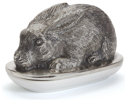 Rabbit Butter Dish Rustic Butter Dishes By Custom