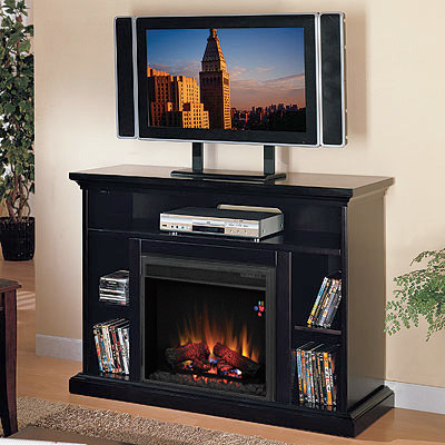Beverly Electric Fireplace Tv Stand In Espresso 23mm374 E451 Traditional Indoor Fireplaces