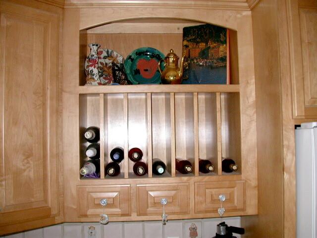 Cabinet Accessories Wine Rack