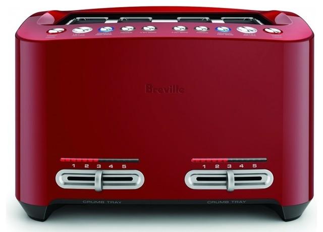 Breville Smart 4 Slice Toaster Cranberry