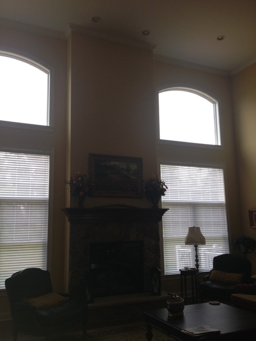 I need help for my great room window treatments for I need windows for my house