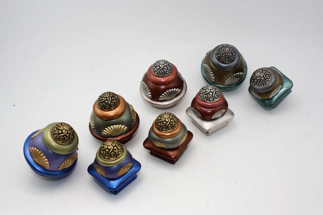 Tudor Cabinet knobs - Contemporary - Cabinet And Drawer Knobs - san francisco - by Susan ...