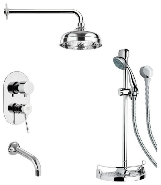 All Products / Bath / Bathroom Faucets / Tub & Shower Faucet Sets