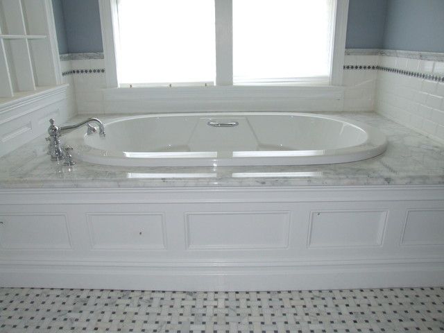 Master Bath Air Bath Tub Westfield Nj Traditional