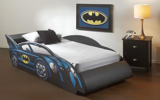 Batmobile Twin Car Bed Frame Modern Beds Toronto