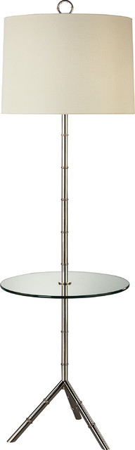 jonathan adler meurice floor lamp white contemporary. Black Bedroom Furniture Sets. Home Design Ideas