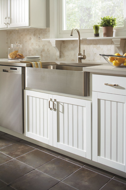 Aristokraft Country Sink Base Cabinet contemporary-kitchen-cabinetry
