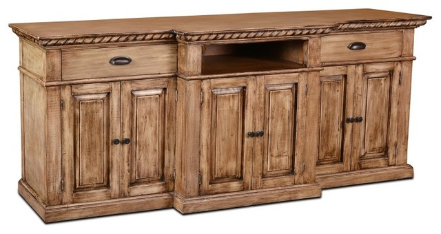 Keystone Panel Door Sideboard Tv Stand Traditional Entertainment