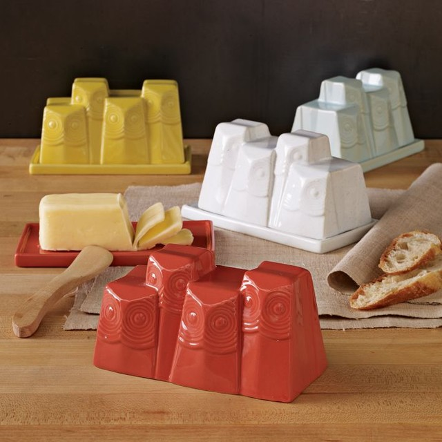 Owl Butter Dish Eclectic Butter Dishes By West Elm