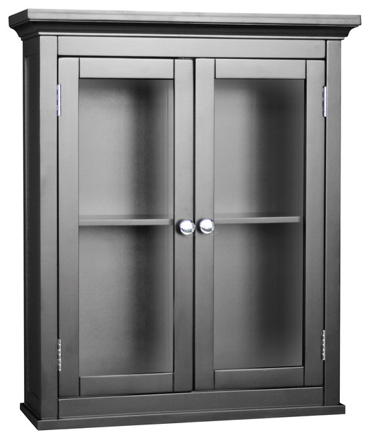 Wall Cabinet With 2 Doors Modern Food Storage