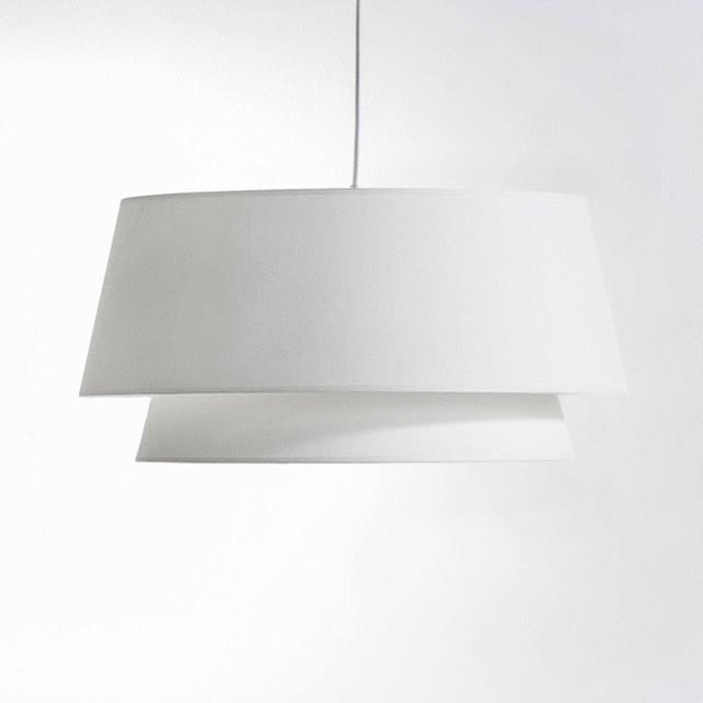 suspension double abat jour epilogon contemporain suspension luminaire par am pm. Black Bedroom Furniture Sets. Home Design Ideas