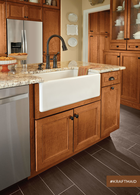 kraftmaid apron sink base cabinet 1