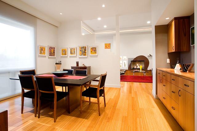 contemporary gem contemporary dining room portland