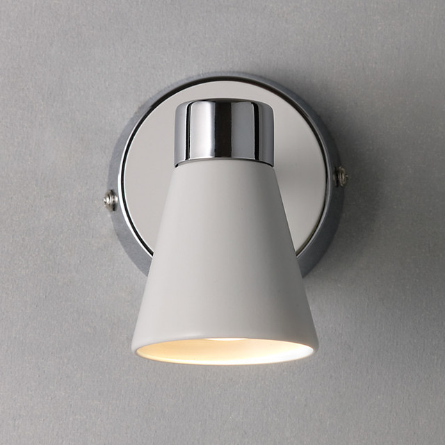 Wall Mounted Lamps John Lewis : Logan Single Spotlight - Modern - Wall Lights - by John Lewis