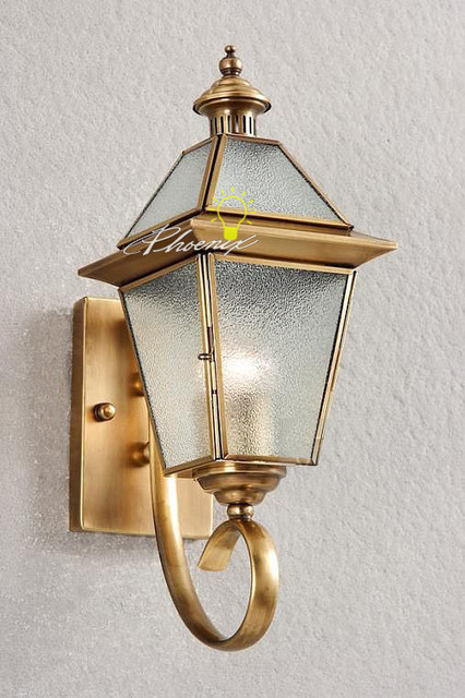 Contemporary European Wall Sconces : Europe Wall Copper Lights - Contemporary - Wall Sconces - New York - by PHOENIX LIGHTING