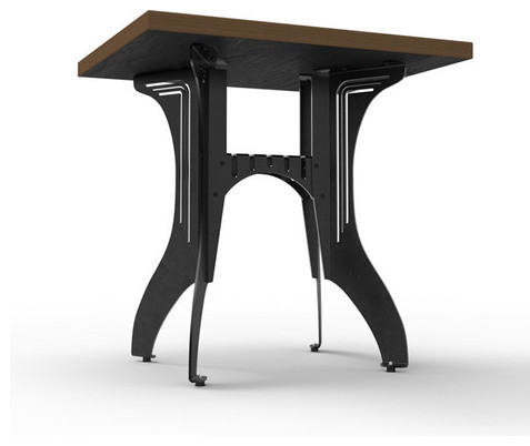 Titus bistro table by pekota design industrial indoor - Set de table new york ...