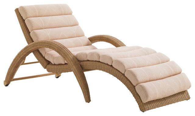 Aviano chaise longue papaya contemporary outdoor for Chaise longue salon