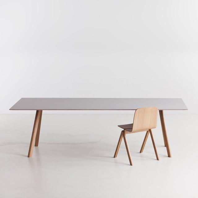 Moderne Esszimmermöbel Ideen glas esstisch weiße sessel