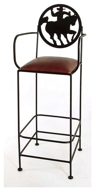Frontier Wrought Iron Bar Amp Counter Stools Wi Contemporary