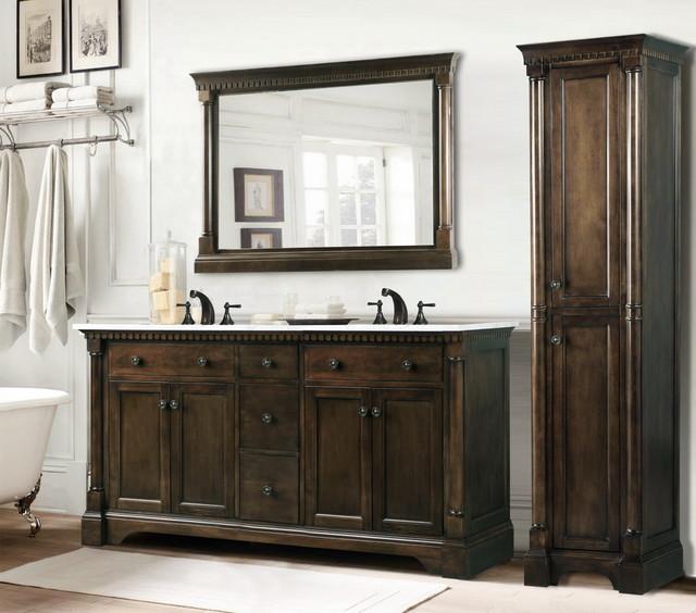 Rustic bathroom vanities rustic bathroom vanities and for Bathroom consoles and vanities